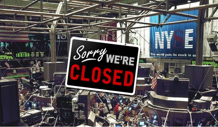 bank closed holidays 2020